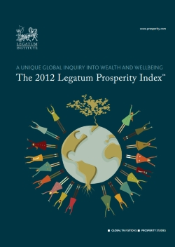 2012 Legatum Prosperity Index Report