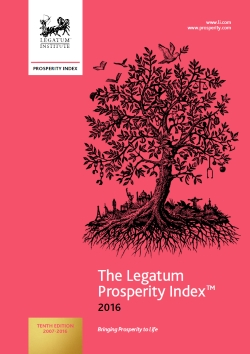 2016 Legatum Prosperity Index Report