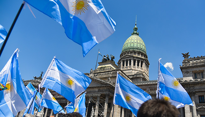 Argentinians have cause to celebrate as one of the few strong performers in the Latin America region